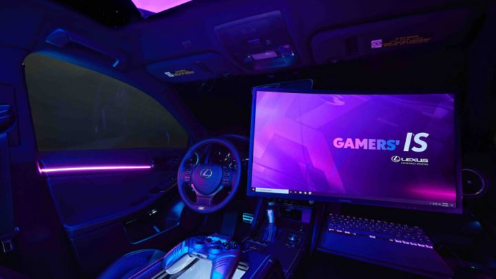 Dieser Lexus hat offiziell den größten Bildschirm